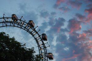 Park Prater w Wiedniu