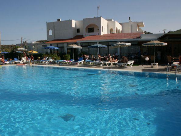 Hotel Lymberia, Rodos, Grecja