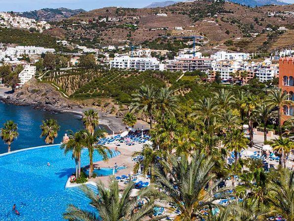 Hotel Playacalida, Costa del Sol, Hiszpania