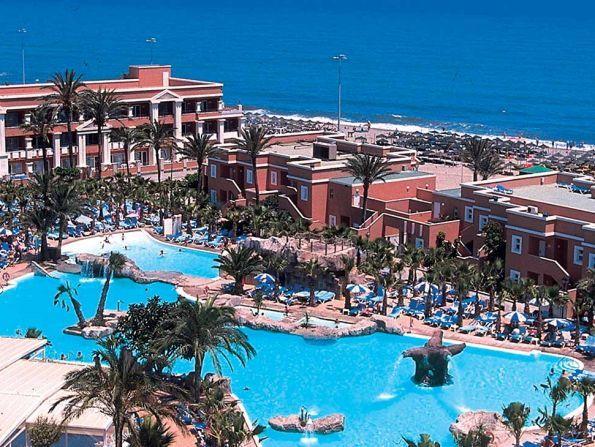 Hotel Playacapricho, Costa de Almeria, Hiszpania