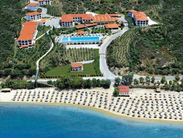 Hotel Akrathos Beach, Chalkidiki, Grecja