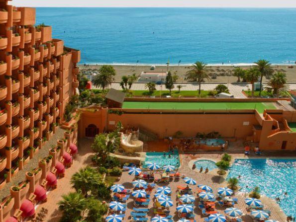 Hotel Almunecar Playa, Costa del Sol, Hiszpania