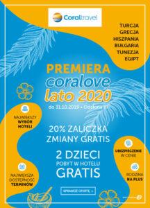 Coral Travel promocja Lato 2020