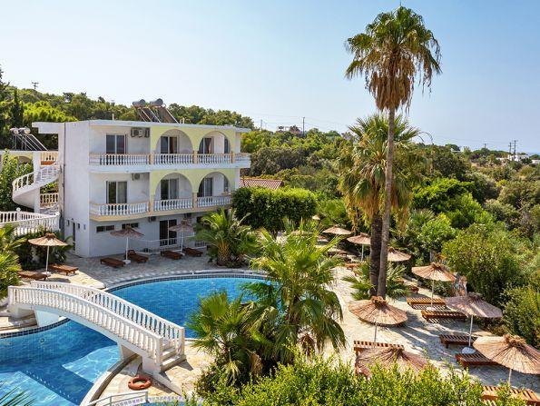 Hotel White Olive Premium Lindos, Rodos