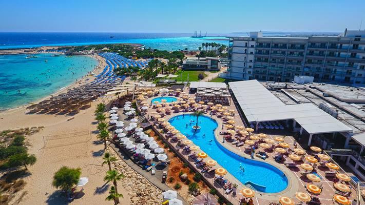 Hotel Asterias Beach, Ayia Napa, Cypr