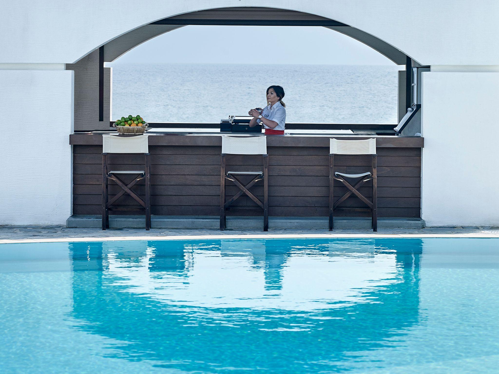 Spira Bar, hotel Creta Maris, Kreta