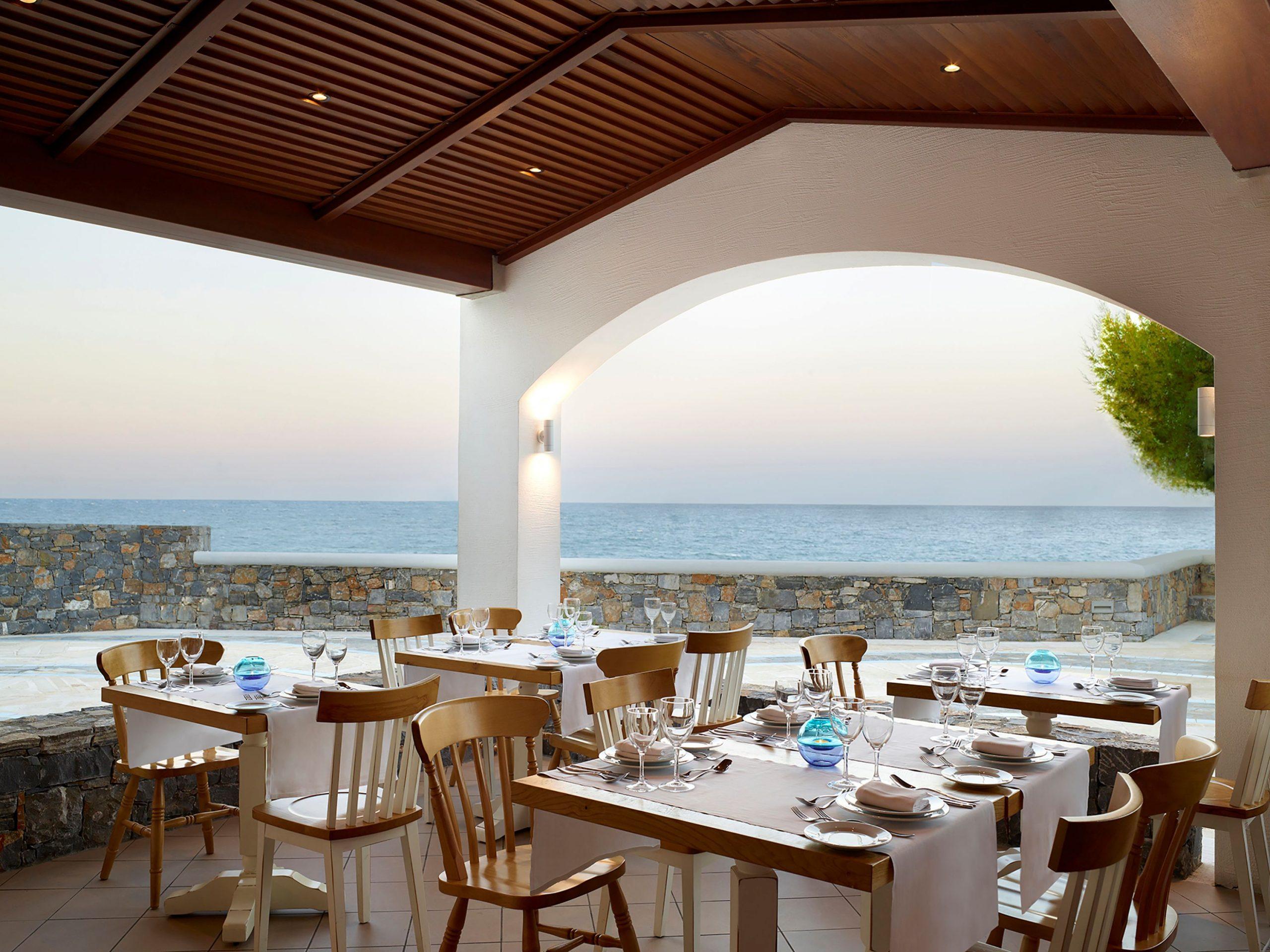restauracja Almyra, hotel Creta Maris, Kreta