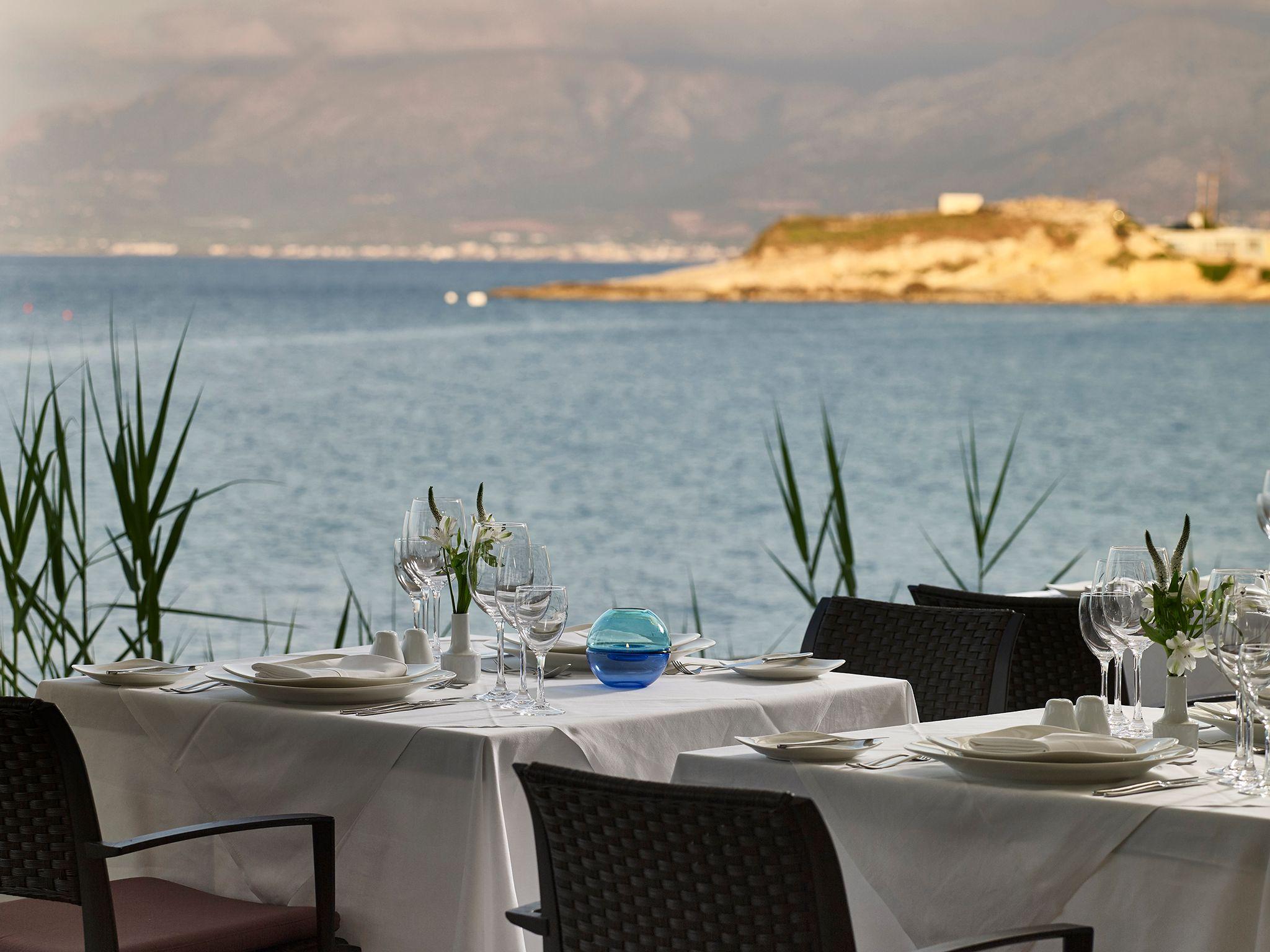 restauracja Cochlias, hotel Creta Maris, Kreta