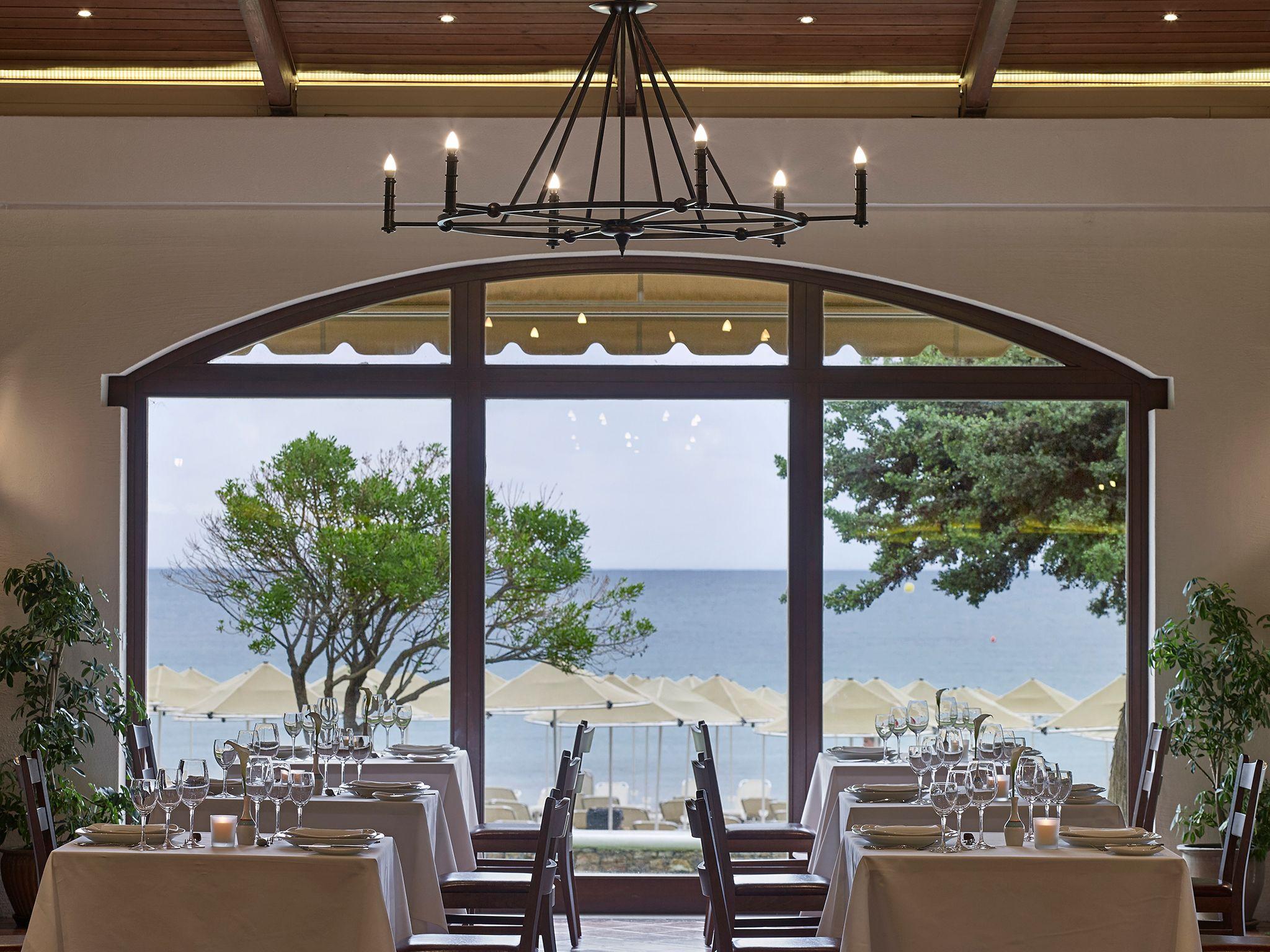 restauracja Cosmos, hotel Creta Maris, Kreta