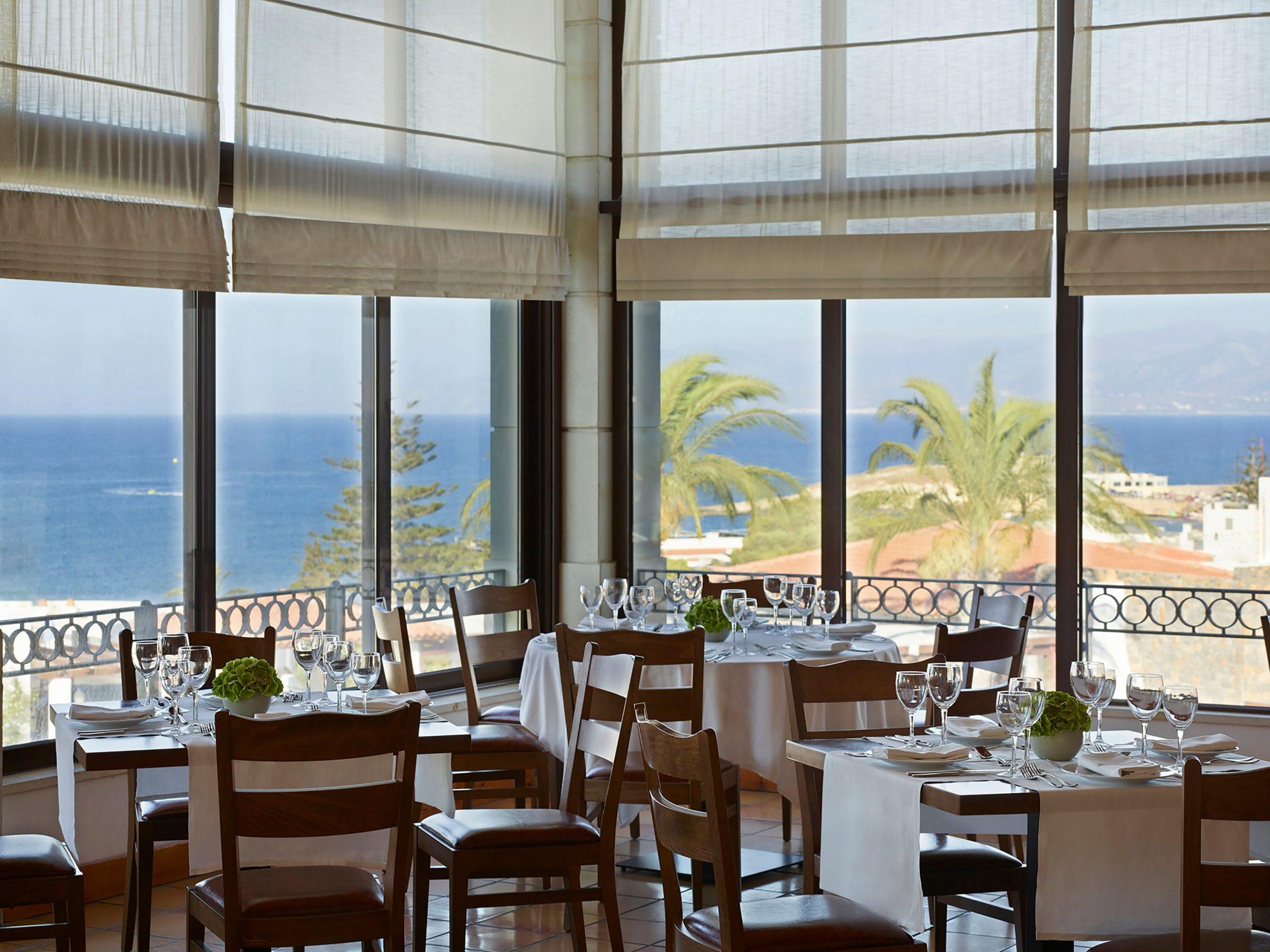 restauracja Estia, hotel Creta Maris, Kreta