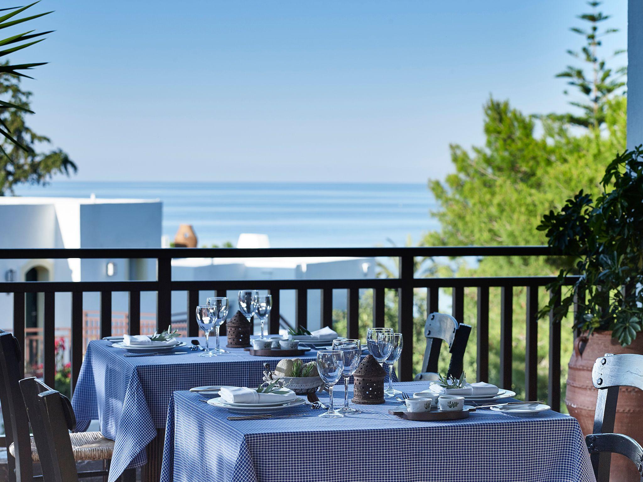 restauracja Pithos, hotel Creta Maris, Kreta