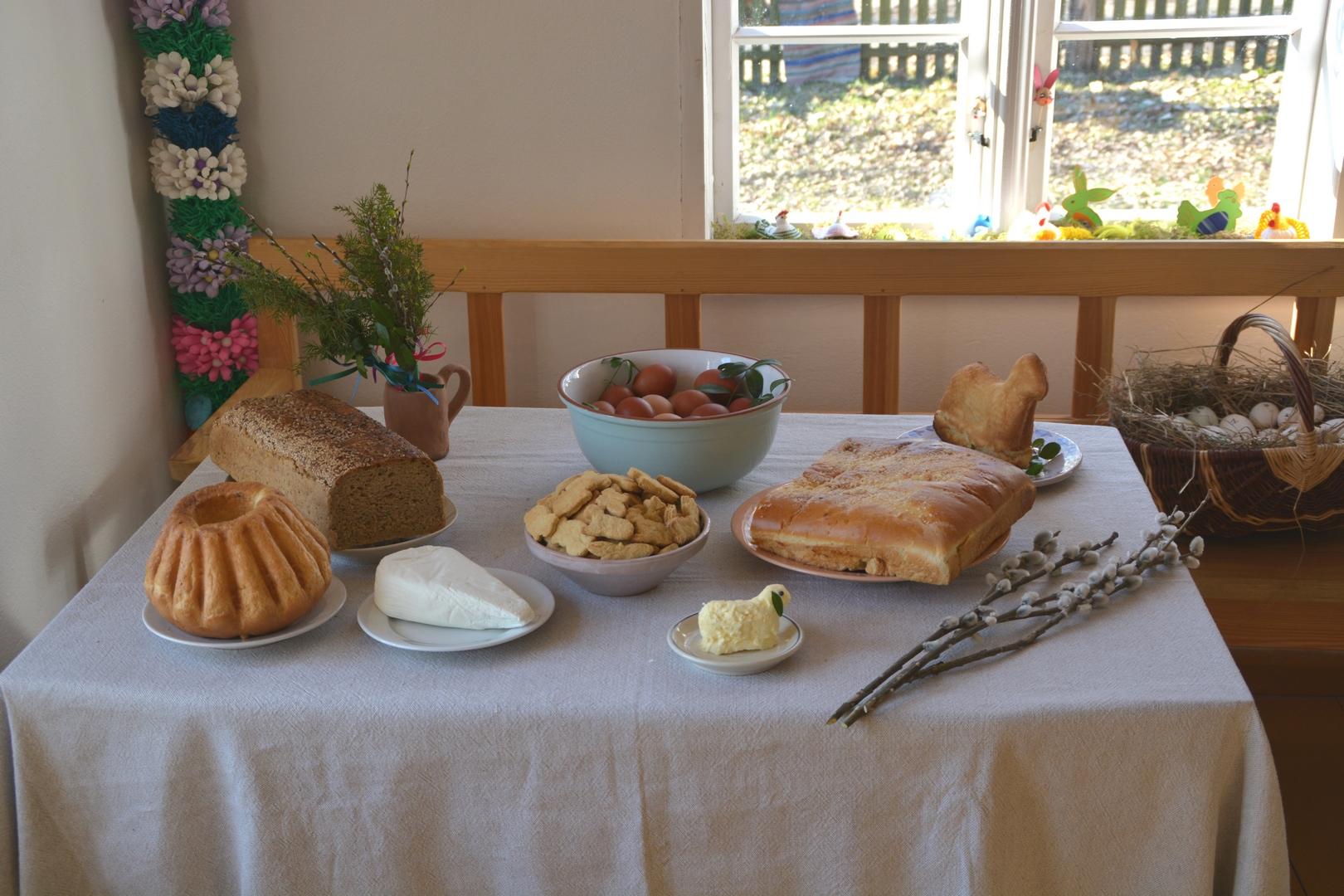 Wielkanocne śniadanie Muzeum Etnograficzne w Olsztynku (Kopiowanie)