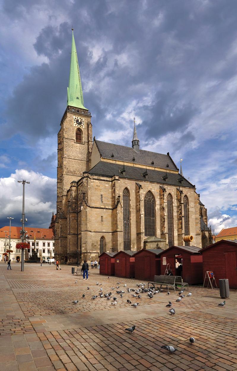 Pilzno, katedra św. Bartłomieja. Fot. Ladislav Renner