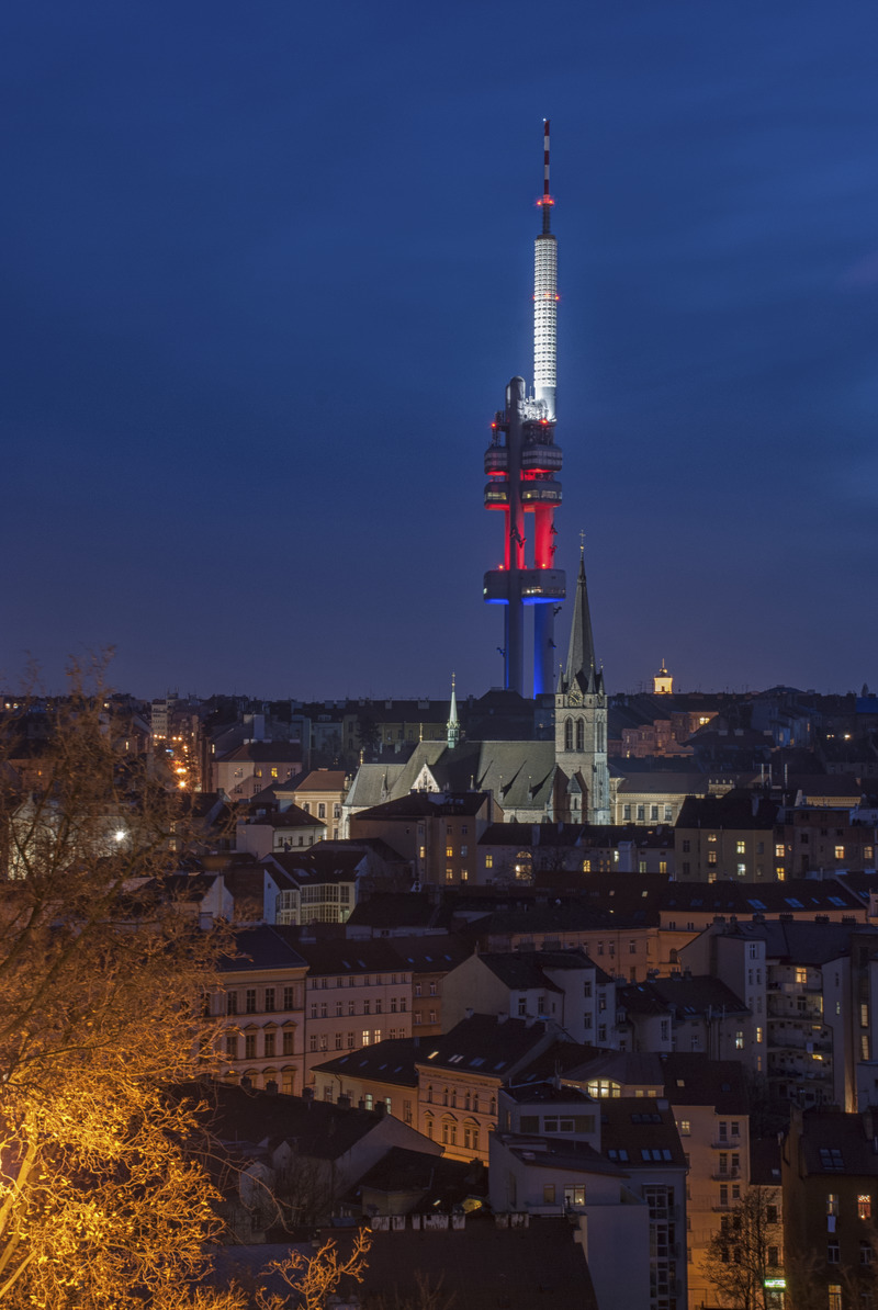 Praga, nadajnik telewizyjny. Fot. Michal Fic