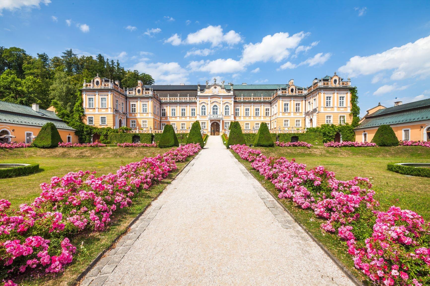 Pałac Nové Hrady - fot. archiwum DSVČ