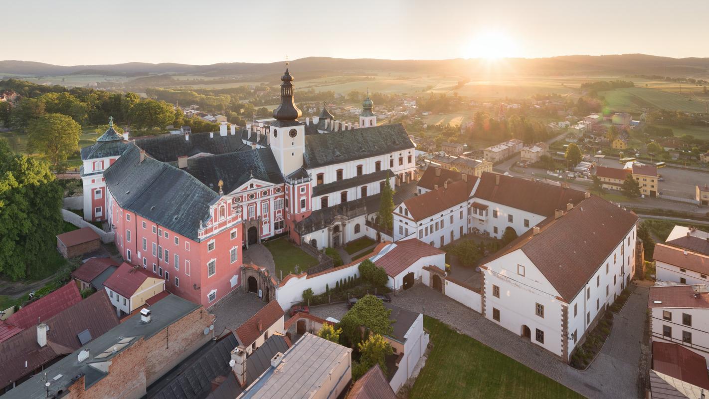 Broumov klasztor. fot. UPVISION