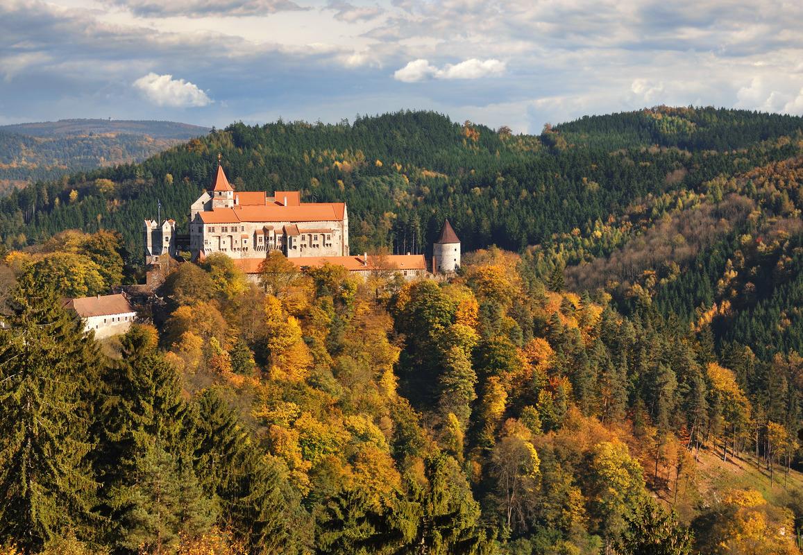 Pernštejn zamek. fot. Ladislav Renner