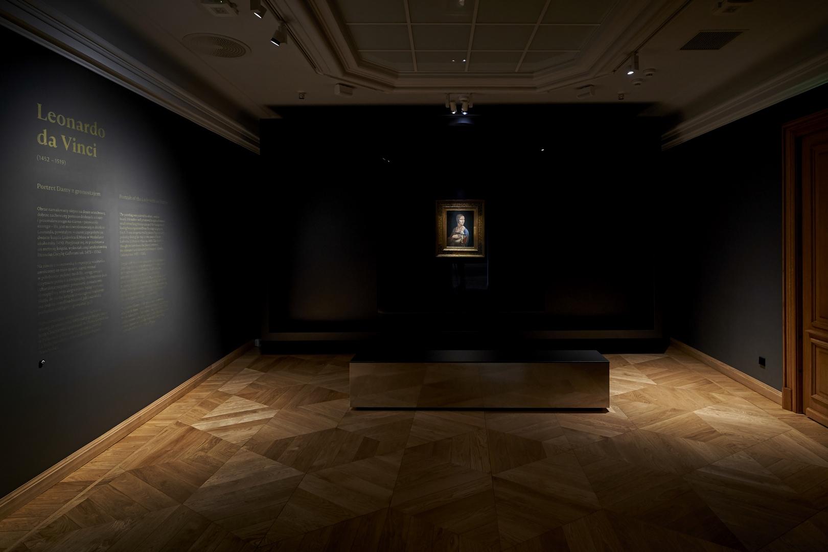 dama z łasiczką, Leonardo da Vincci - fot Tomasz Markowski